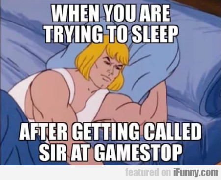 When You Are Tring To Sleep After Getting Called..