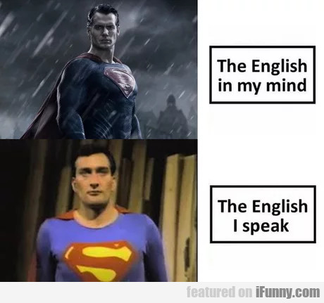 The English In My Mind - The English I Speak...