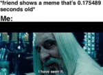 Friend That Shows A Meme That's 0.175489 Seconds..