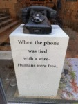 When The Phone Was Tied With A Wire...