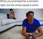 When You Promised Her A Romantic Night, But The...