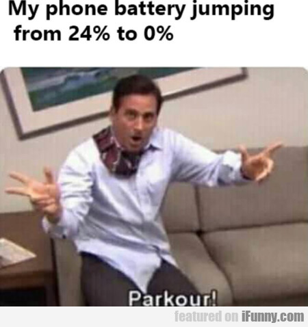 My Phone Battery Jumping From 24% To 0%