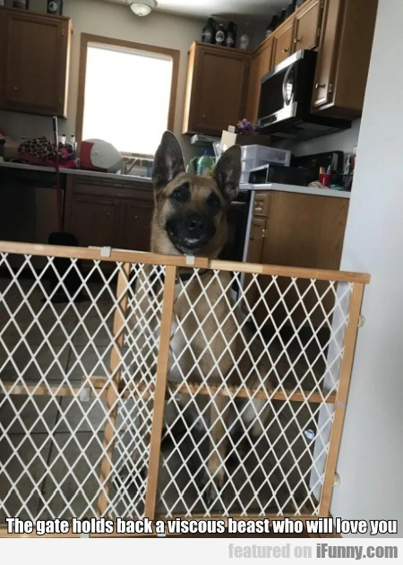 The Gate Holds Back A Viscous Beast Who...