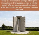 There Is A Monument In Georgia, Which Gives...