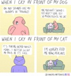 When I Cry In Front Of My Dog...