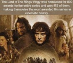 The Lord Of The Rings Trilogy Was Nominated For...