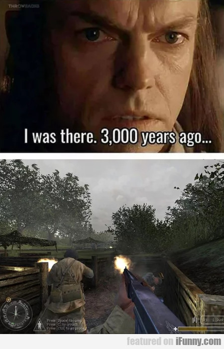 I Was There 3000 Years Ago