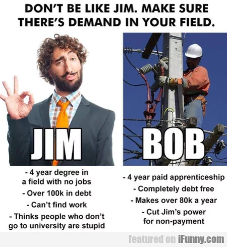 Don't Be Like Jim - Make Sure There's Demand In...