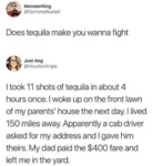 Does Tequila Make You Wanna Fight