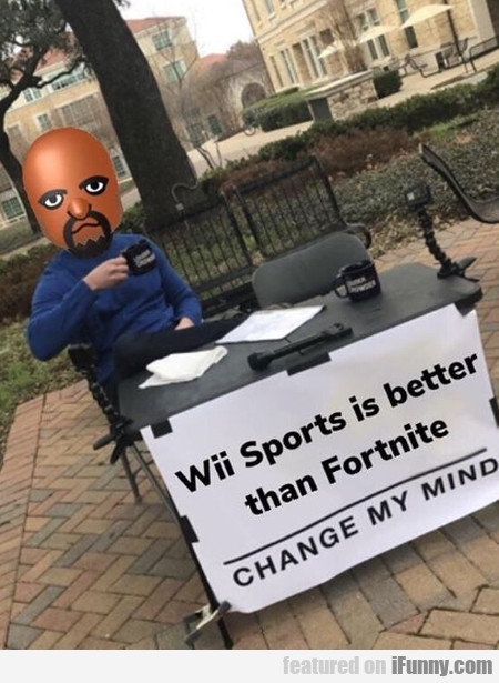 Wii Sports Is Better Than Fortnite