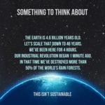 Something To Think About - The Earth Is 4.6...