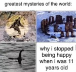 Greatest Mysteries Of The World - Why I Stopped