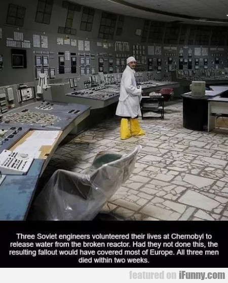 Three Soviet Engineers Volunteered Their Lives...