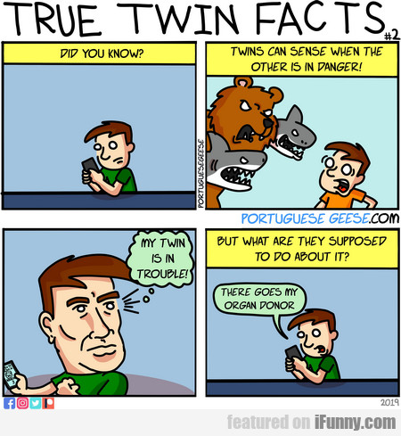 Did You Know? Twins Can Sense When The Other...