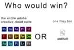Who Would Win - The Entire Adobe Creative Cloud...