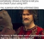 Somebody - Shows A Meme To Tell You To Check