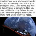 Imagine If You Were A Billionaire Inventor...