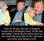 After An 80 Year Old Man In England Moved...