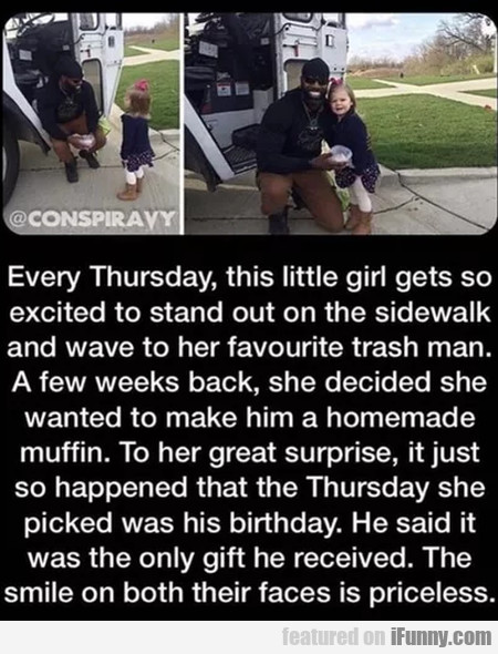 Every Thursday This Little Girl Get Exited To...