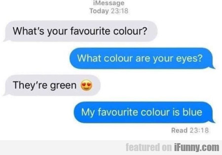 What's Your Favorite Colour?