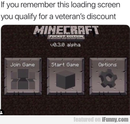 If You Remember This Loading Screen You Qualify...