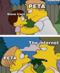 Steve Irwin - Peta - The Internet...