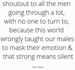 Shoutout To All The Men Going Through A Lot...