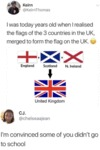 I Was Today Years Old When I Realised The Flags...