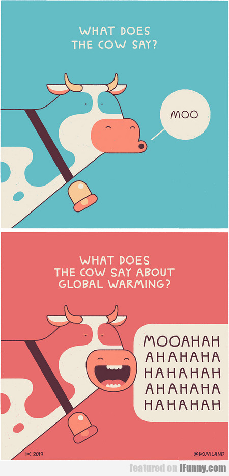 What Does The Cow Say? Moo. What Does...