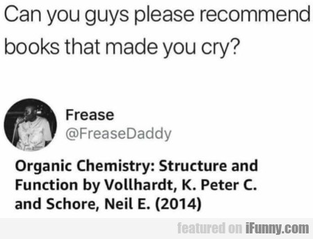 Can you guys please recommend books that...