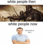 White People Then - White People Now
