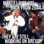 Marty Just Got Back From 2044