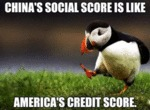 China's Social Score Is Like America's Credit...