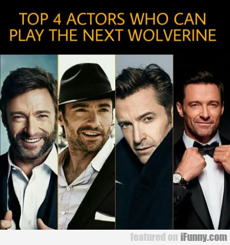 Top 4 actors who can play the next...