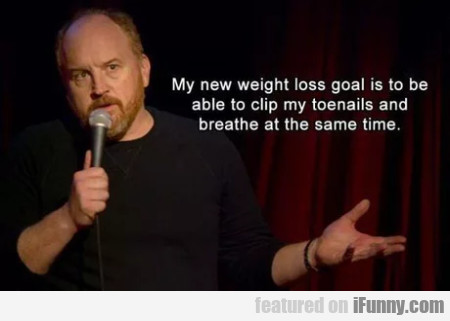 My New Weight Loss Goal Is To Be Able ...