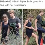 Breaking News - Taylor Swift Goes For A Hike...