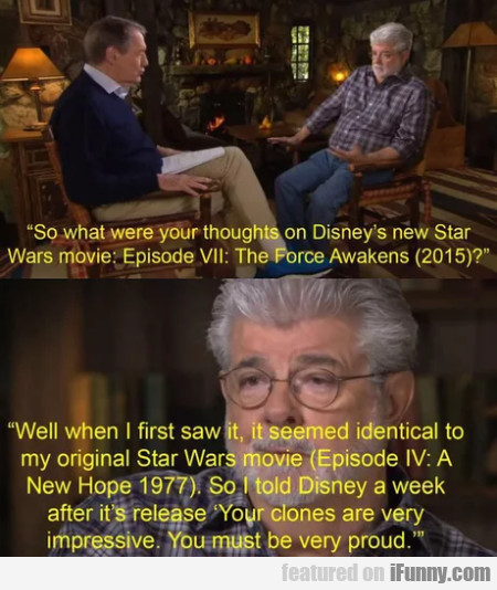 So What Were Your Thoughts On Disney's New...