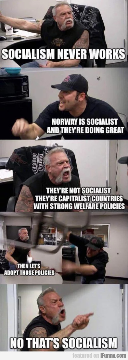 Socialism Never Works - Norway Is Socialist...