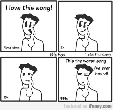 first time - i love this song...