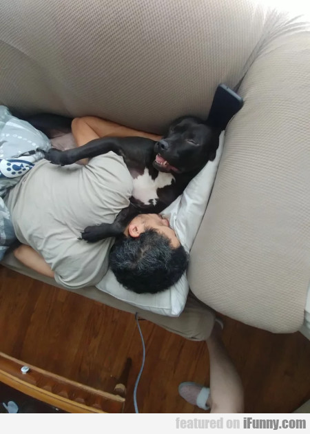 husband sneaks out of bed to cuddle mistress