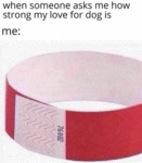When Someone Asks Me How Strong My Love...
