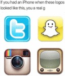 If You Had An Iphone When These Logos Looked...
