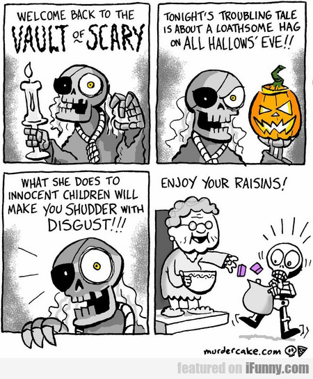welcome back to the vault of scary