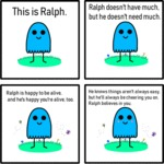 This Is Ralph. Ralph Doesn't Have Much.