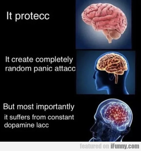 It protecc - It create completely random panic