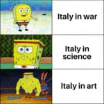 Italy In War - Italy In Science - Italy In Art