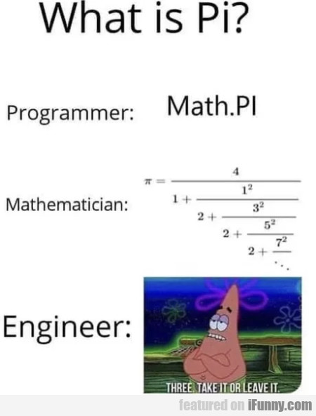 What Is Pi - Programmer - Math Pi