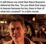 It Still Blows My Mind That Steve Buscemi...