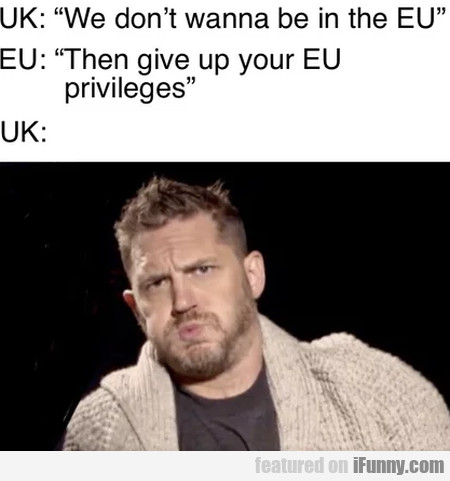 Uk - We Don't Wanna Be In The Eu...