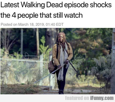 Latest Walking Dead Episode Shocks The...